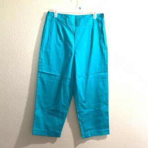 White Stag career pants side zip green size 12